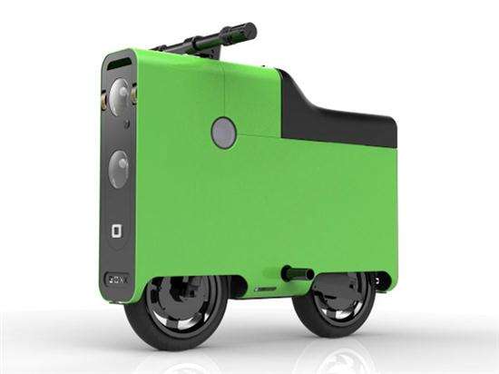 BOXX Electric Scooter in Shape of Suitcase - 01