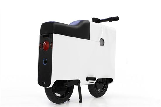 BOXX Electric Scooter in Shape of Suitcase - 04