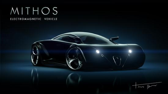 Mithos Electromagnetic Concept Vehicle - 02