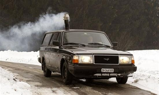 Wood-Burning Stove as Car Heater System - 02