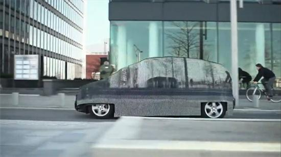 Mercedes Invisible Car - 01