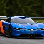 Renault Alpine A110-50 Concept Sports Car