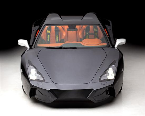 Supercar With Night Vision - Arrinera 2013 - 02