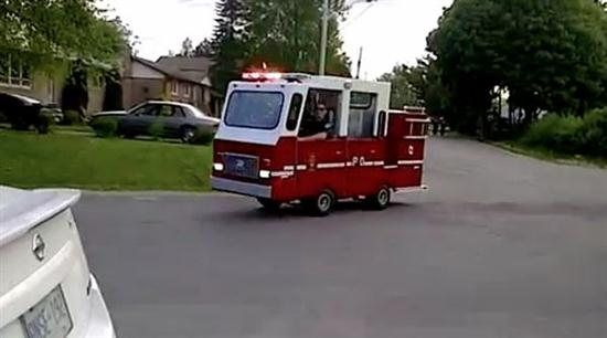 World's Smallest Fire Truck - 01