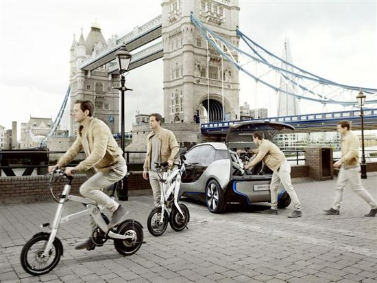 BMW Folding Electric Bike - 02