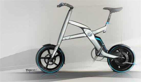 BMW Folding Electric Bike - 03