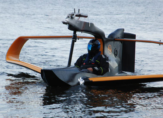 FlyNano Personal Electric Seaplane - 01