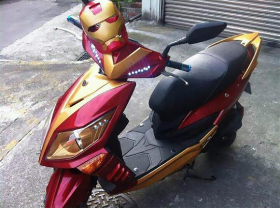 Iron Man Scooter - 01