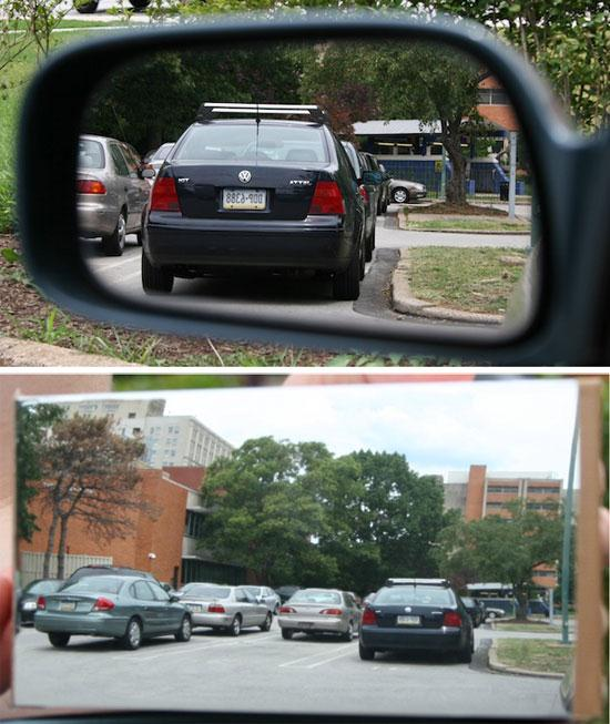 Side Mirror Without Blind Spot - 01