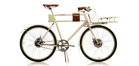 Electric Bicycle Faraday Porteur
