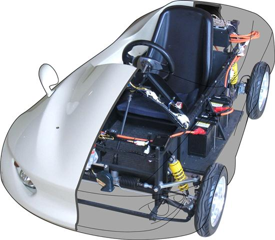 Homemade electric vehicle cars show for How to make a homemade electric motor