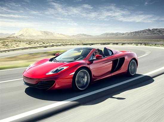 New McLaren Sports Car - MP4-12C Spider - 01
