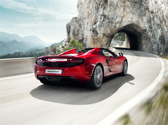 New McLaren Sports Car - MP4-12C Spider - 03