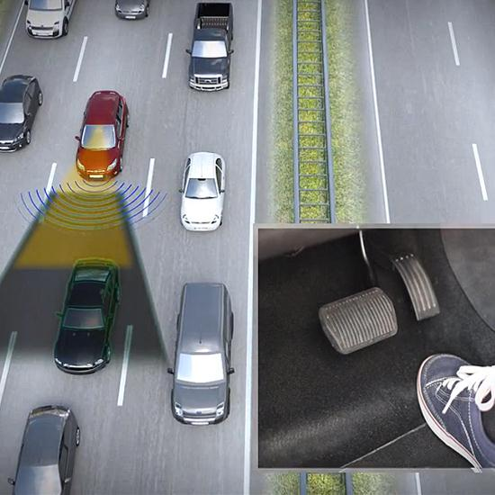 Traffic Jam Assist by Ford