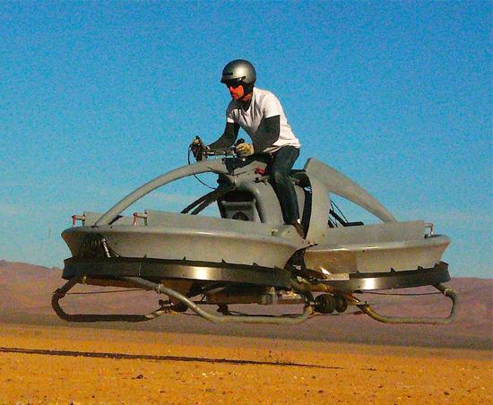 Star Wars Hover Bike Science Fiction Technology Brought To Life