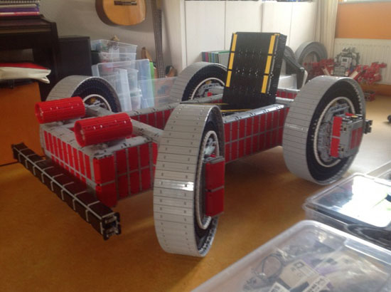 Lego Cart Test Driving