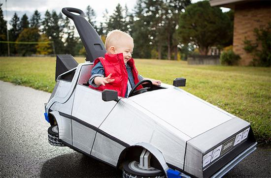 Baby's Marty McFly Costume - 01