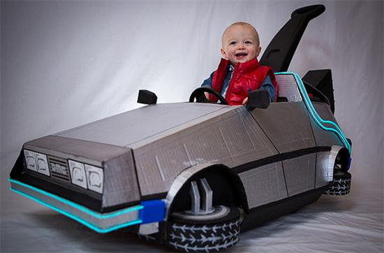 Baby's Marty McFly Costume - 02