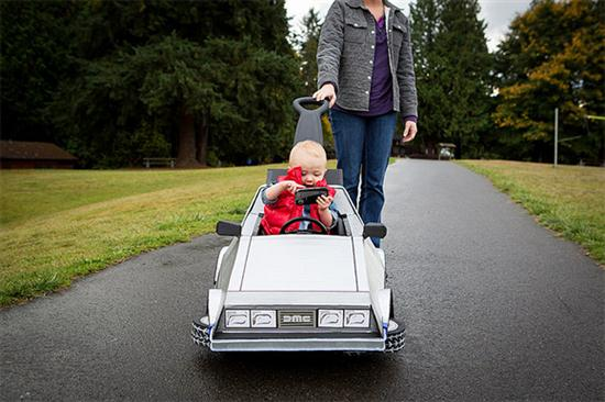 Baby's Marty McFly Costume - 03