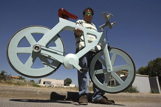 Cardboard Bicycle For Just $20 - 01