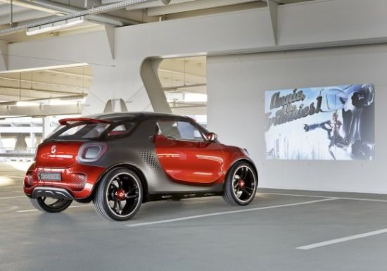 ForStars Concept Car With Built-in Projector - 01