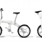 Mando Footloose Chainless Folding Electric Bicycle