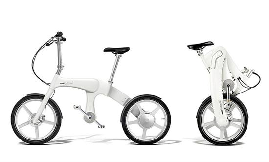 Mando Footloose Chainless Folding Electric Bicycle - 01