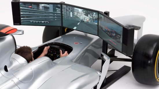Full Sized F1 Race Car Simulator Cars Show