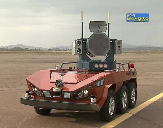 South Korea Bird Strike Defense Robot - 01