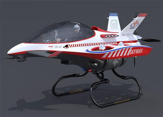 Skyway - VTOL Jets as Air Ambulance - 01