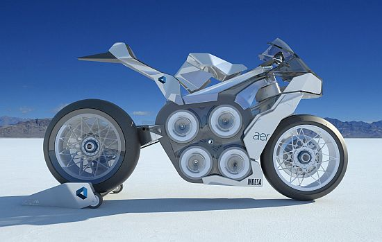 AER Electric Concept Motorcycle - 01