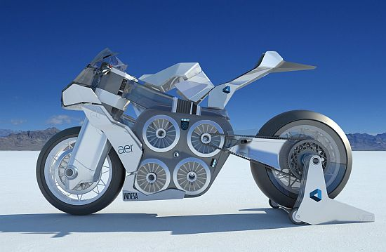 AER Electric Concept Motorcycle - 02
