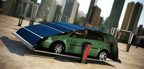 Solar Panel Parking System - 01
