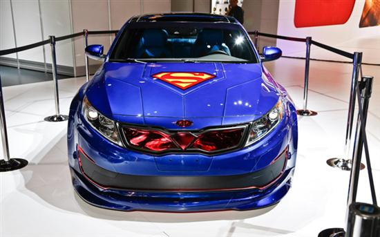 Superman-Inspired Kia Optima Hybrid - 01