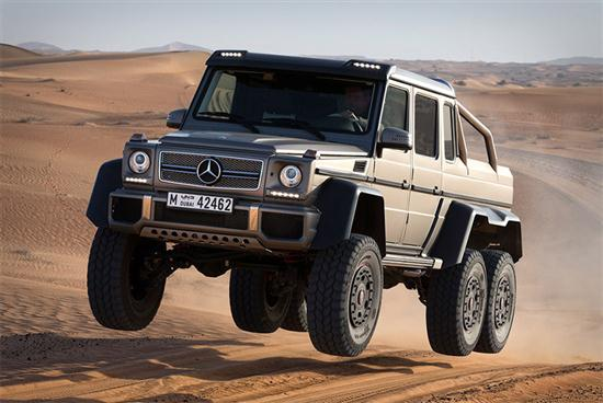 Six Wheel Drive Mercedes Benz G63 Amg 6 6 Cars Show