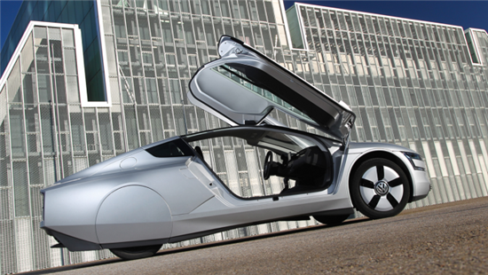 Volkswagen XL1 Gets 62 Miles on Only One Liter of Fuel - 04