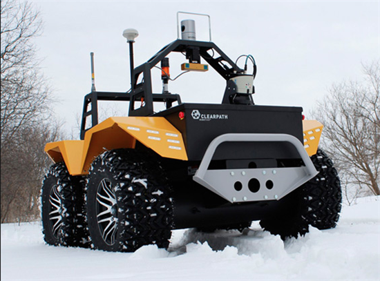 Grizzly Robot Utility Vehicle - 01