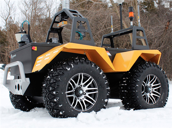 Grizzly Robot Utility Vehicle - 02