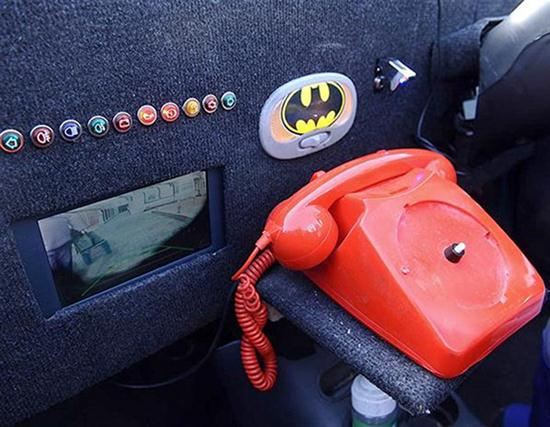 Old Daewoo as Batmobile - 02