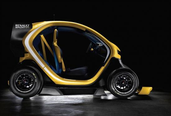Renault Twizy Sport F1 Electric Concept - 02