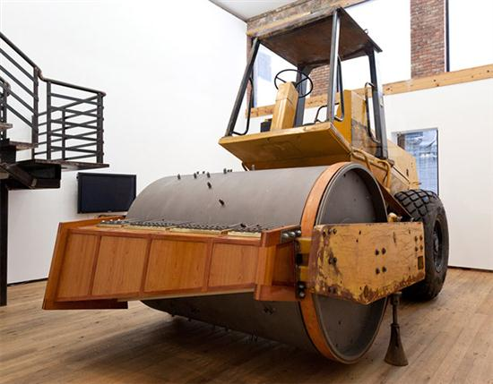 The Music Box Made of Soil Compactor Machine - 01