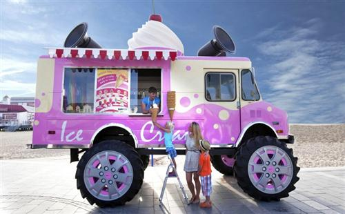 Big Ice Cream Truck