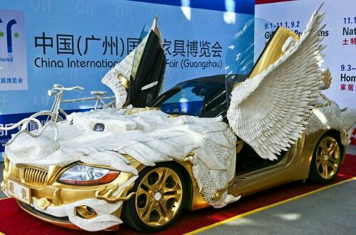 BMW Z4 Made From Yak Bone
