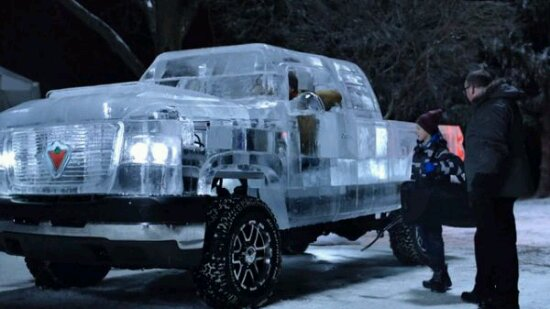 Drivable Ice Truck