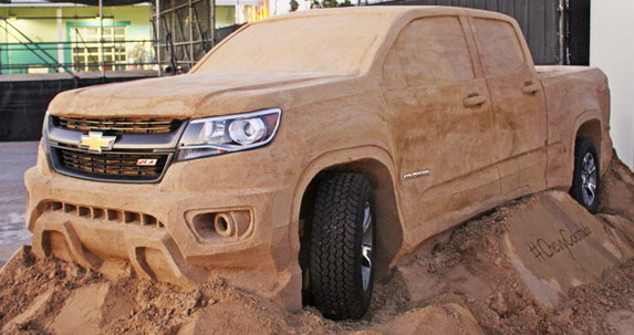 2015 Chevrolet Colorado Made of Sand