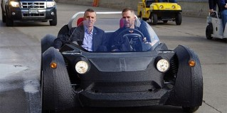 First-3D Printed Car in the World