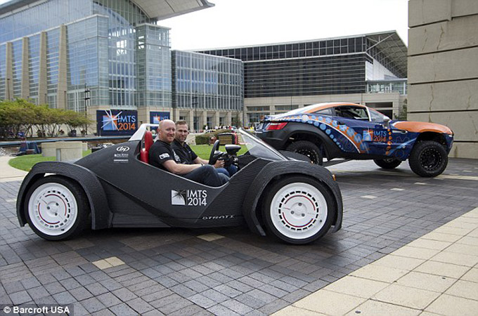First-3D Printed Car in the World 02