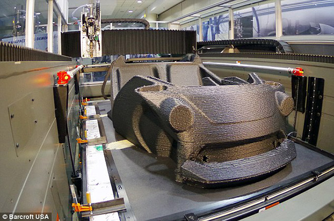 First-3D Printed Car in the World 03