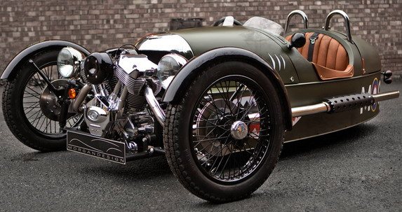 Morgan Considers Production of Electric Three-Wheeler