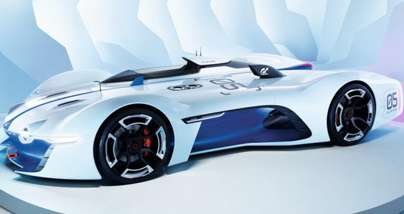 Alpine Vision Gran Turismo Concept Now Officially